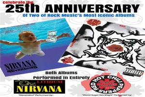 'Nevermind' 25th Anniversary Show ft LITHIUM (The Oz Nirvana Tribute Show)