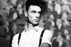 ANDY BLACK (USA - Black Veil Brides - alcohol free - U18s only matinee show)