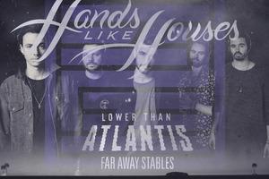 HANDS LIKE HOUSES (album tour)