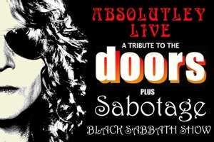 'Absolutely Live' presents THE DOORS