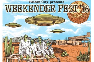 Poison City Presents 'Weekender Fest '16' ft. PITY SEX (USA) + THE NATION BLUE + CAMP COPE