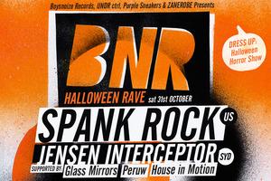 SPANK ROCK - HALLOWEEN RAVE